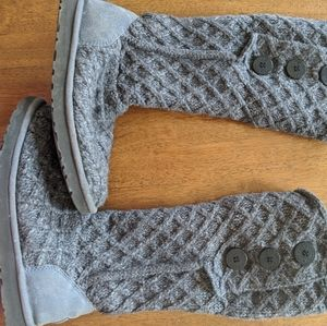 UGG Lattice Cardy Knit Boots